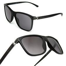 $480 BVLGARI Men's BLACK LOGO SUNGLASSES