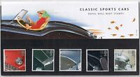 GB Presentation Pack 271 1996 Classic Sports Cars Stamps 10% OFF ANY 5+