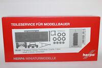 Herpa 081061  Hängerfahrgestell für Festaufbau 2-achs (7,45m) 1:87 H0 NEU in OVP