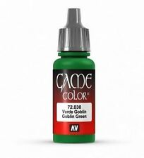 Vallejo Game Color 17ml Acrylic Paint 30 Goblin green