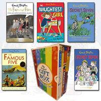 Enid Blyton 5 Books Collection Set (Secret Seven Adventure) Gift WrappedSlipcase