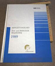 HP Katalog Buch 1989 Hewlett Packard Messgeräte (DEUTSCH)