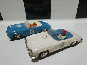 Scalextric USED C75 Mercedes Benz 190SL White & Blue Rare Models