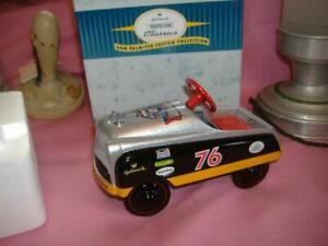 Hallmark 1998 MURRAY KIDDIE PEDDLE RACE CAR Die Cast NASCAR D.PALMITTER 50th Ann