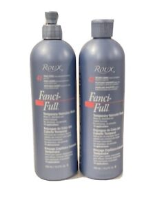 Roux Fanci-Full Temporary Color Rinse 42 Silver Lining & 41 True Steel 15.2 oz