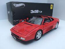 Elite Hot Wheels 1/18 Ferrari 348 Ts Spider 1989 Red Art. X5480