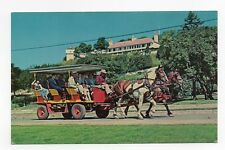 Chrome Postcard,A Carriage Trip,Mackinac Island,Michigan,1963