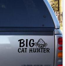 BIG CAT HUNTER Decalcomania ideale per Nash DAIWA Shakespear Tackle Box Top Box i furgoni ETC