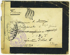 """FRANCE-SYRIA 1917 FREE MILITARY MAIL FROM """"MARINE FRANC"""