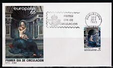 ESPAÑA SOBRE 1º DÍA 1985 2779 EUROPALIA 85. RELIGION