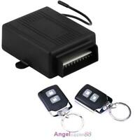 Car Vehicle 2 Remote Control Central Door Lock Locking Keyless Entry System Kit