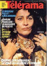 TELERAMA 1983_IRENE PAPAS_SANDRINE BONNAIRE et MAURICE PIALAT_ARLETTY_LA LOTERIE