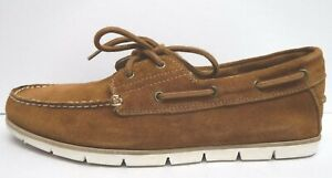 Steve Madden Size 12 Brown Suede Boat Shoes New Mens