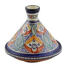 Moroccan Serving Tagine Handmade Ceramic Tajine Dish Exquisite 12 inches