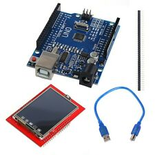 UNO R3 MEGA328P Board with TFT 2.4 Inch Touch LCD Screen Module For Arduino