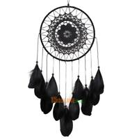 Handmade Lace Dream Catcher Feather Bead Hanging Home Decoration Ornament Gift