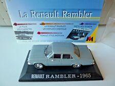 Renault Rambler 1965 grise 1/43 Universal Hobbies avec fascicule