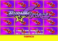 Burning Force - Sega Genesis Game Only