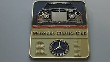 Mercedes W111 W112 W109 W108 classic Car emblem Grill badge emblem badge vintage