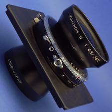 Fujinon-W 360mm 6.3 8x10 Lens Copal Shutter 6x6 Lens Board