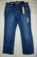NEW Levi's 505 Women's Jeans Size 33 Straight Mid Rise Stretch Blue