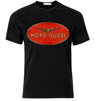 Moto Guzzi   - Graphic Cotton T Shirt Short & Long Sleeve