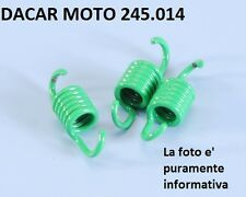 245.014 CONJUNTO MUELLES EMBRAGUE D.1,7 VERDE POLINI YAMAHA GIGGLE 50 C3 NEO'S