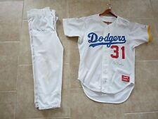 Don LeJohn Signed Game Used Dodgers Baseball Jersey & Pants PSA Guaranteed