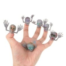6PcsSet Scary Ghost Style Finger Puppet Children Story Time Halloween Toy Decors