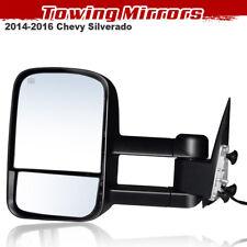 Left Power Heated Towing Mirror For 2014-2016 Silverado Sierra