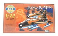 SMER Modellbau Kunststoff Modellbausatz Militär 1:72 Flugzeug Suchoj SU 7BMK