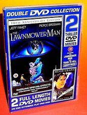 The Lawnmower Man & Train To Hell (AKA Night Train To Venice) DVD (2 Movies)