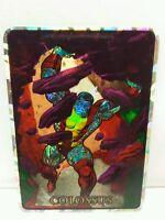 Colossus 1992 Marvel Masterpieces Vending Machine Chase Prism Sticker Card