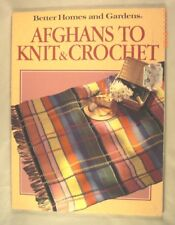 Afghans to Knit & Crochet - Better Homes & Gardens - 27 Patterns