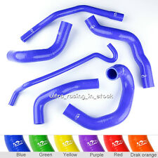 BLUE 2005-2010 FORD MUSTANG GT/ SHELBY V8 SILICONE RADIATOR COOLANT HOSE KIT