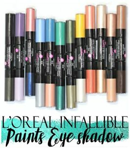 L'Oreal Infallible Paints Eye Shadow ~ Choose From 12 Shades