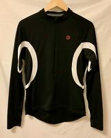 BONTRAGER Sport WSD Women's Black Long Sleeve Cycling Jersey Large Half Zip