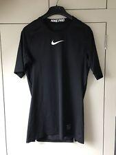 Homme Nike Pro Combat Compression à Manches Courtes Couche De Base Top Dri Fit taille M