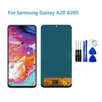 For Samsung Galaxy A20 2019 A205 Display LCD Screen Touch Screen Digitizer Lot