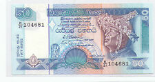 Sri Lanka Ceylon 50 rupees Banknote UNC 1992