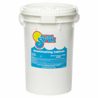 "In The Swim 1"" Bromine Sanitizer Tablets Swimming Pool & Spa 50 Lbs."