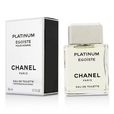 Chanel PLATINUM EGOISTE Pour Homme 50ml 1.7oz Eau De Toilette Spray New Open Box