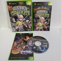 Grabbed by the Ghoulies Xbox Complete CIB Authentic Rare Original Microsoft