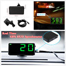 Digital Display Car Plug&Play GPS HUD Speedometer Overspeed Bi Bi Alarm MPH KM/H