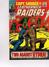 Captain Savage and His Leatherneck Raiders #3 Marvel comics 1968 awesome shape