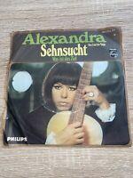 """ALEXANDRA - Sehnsucht (Das Lied der Taiga) / Was ist das Ziel - 1968 - Single 7"""""""