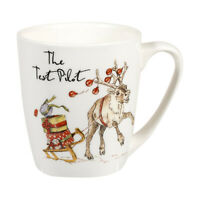 Country Pursuits The Test Pilot Reindeer Christmas Mug