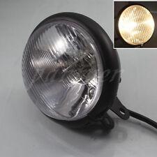 Black Motorcycle Metal Retro Headlight Fits For Harley Cafe Racer Bobber Custom
