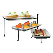 American Metalcraft Ttmel3 Display Stand, 3-Tier