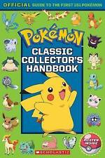 NEW Pokemon Classic Collectors Handbook By Scholastic Paperback Free Shipping